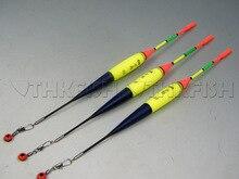 3Pcs 8g #2.0 float + 10Pcs Glow stick THKFISH Fishing Floats Luminous Lighting Foam Floats