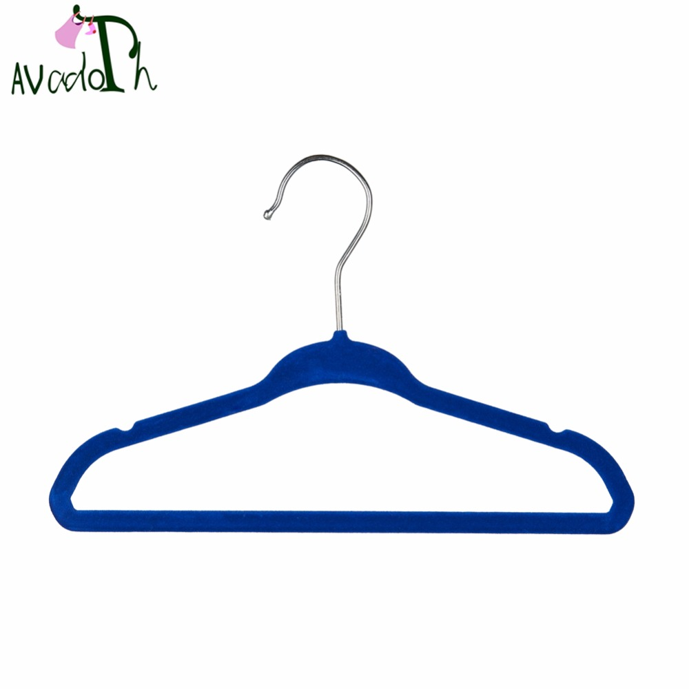Avadoth Kids Velvet Hangers Strong and Durable Ultra Thin ...