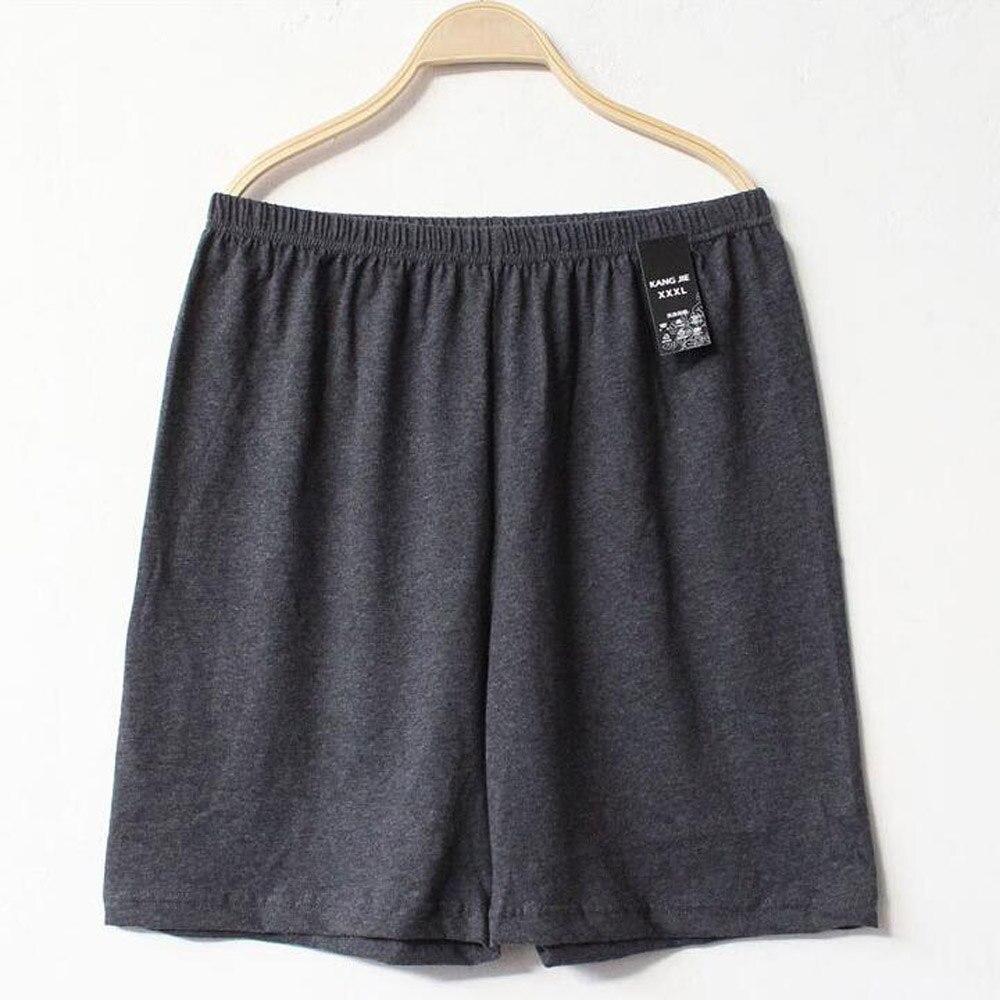 2019 Casual Loose Men Cotton Pajama Shorts Sleepwear Summer Soft Boxer Underwear Sexy Pyjamas Nightwear Underpants Pijama Hombre