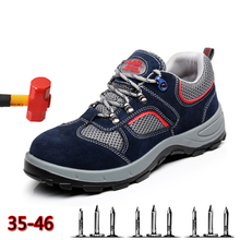 Anti-puncture Puncture Deodorant Protective Shoes Breathable Anti-Static Safety Summer Wear-resistant Non-slip Work Boots