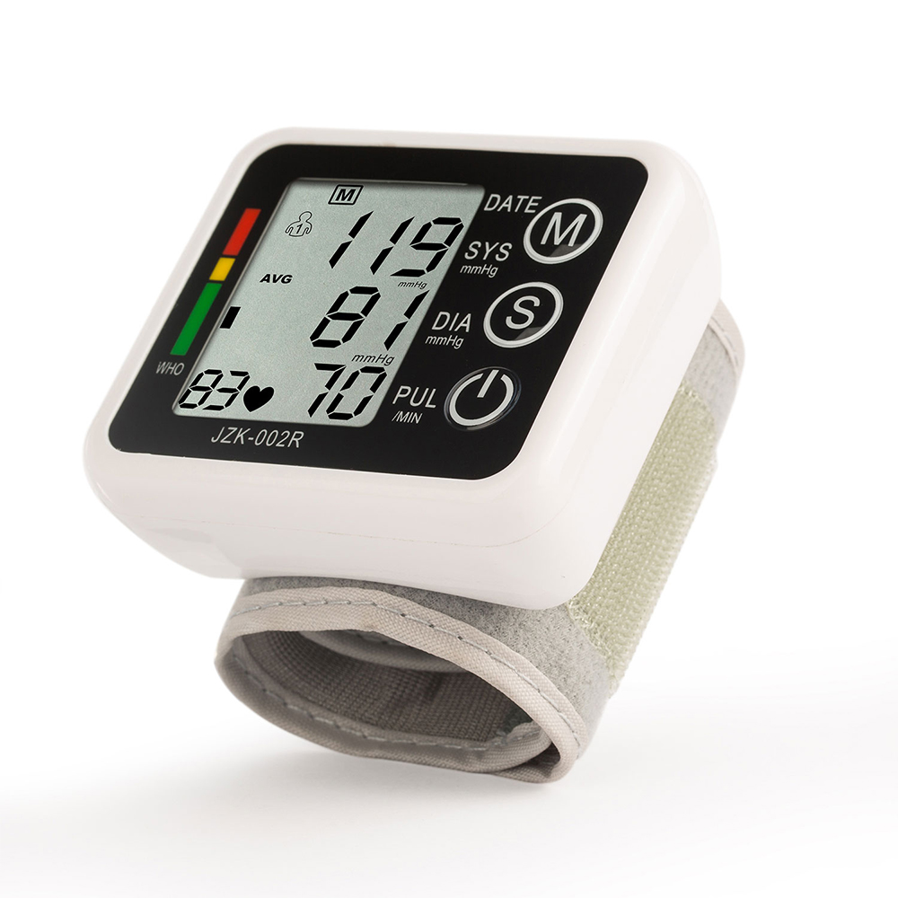 Health Care Automatic Digital Wrist Blood Pressure Monitor Meter Cuff Measurement Sphygmomanometer