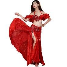 Jupe de danse du ventre orientale pour femme, ensemble de 2/3 pièces, Costume de danse du ventre pour femme, nouvelle collection