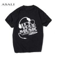 ASALI Band Fashion Kawaii Music Tees 2017 Men S T Shirts Short Sleeve T Shirt Men