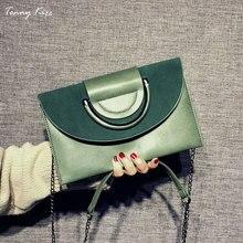 Tonny Kizz matte leather handbags women bags designer female crossbody ladies hand shoulder chain clutch new