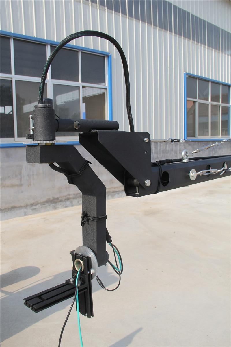 Schwenkkran 8m 2-Achs ctagon Schwenkkopf tragbarer Kamerakran dslr - Kamera und Foto - Foto 5