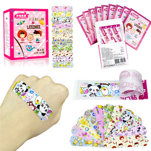Image 3 - 100PCS Waterproof Breathable Cute Cartoon Adhesive Bandages Wound Dressing First Aid Stickers For Children Kids