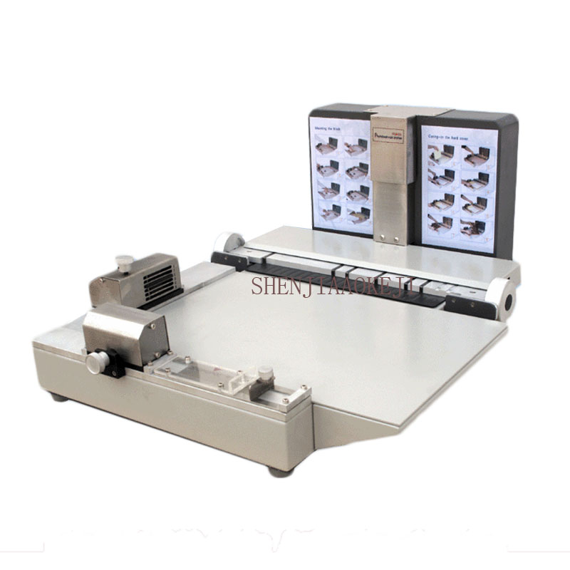 Manual fast Photo Editor/hardcover album production convenient mobile machine butterfly shaping machine 18 inches image
