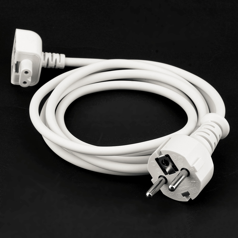 Professional International 1.8M Extension Cable Cord for MacBook for Pro Charger Cable Power Cable Adapter US/EU/AU Plug 10w power adapter extension cable for macbook ipad us plug 160cm length