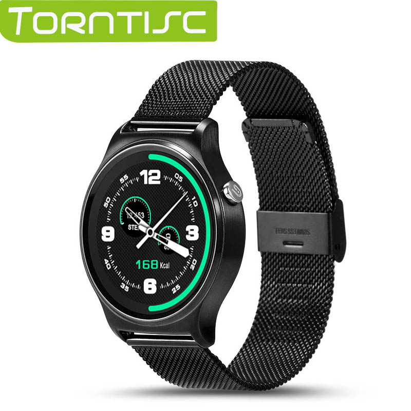 Torntisc MTK2502 Smart Watch GW01 Support Heart Rate Detector Siri UV Body Temperature Monitoring For Android