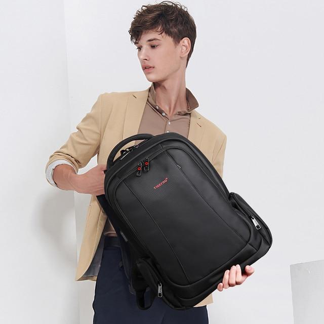 Tigernu Anti Theft Nylon 27L Men 15.6 inch Laptop Backpacks School Fashion Travel Male Mochilas Feminina Casual Women Schoolbag 5