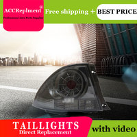 2PCS Car Styling for Lexus IS200 Taillights 2007 2014 for IS200 LED Tail Lamp+Turn Signal+Brake+Reverse LED light