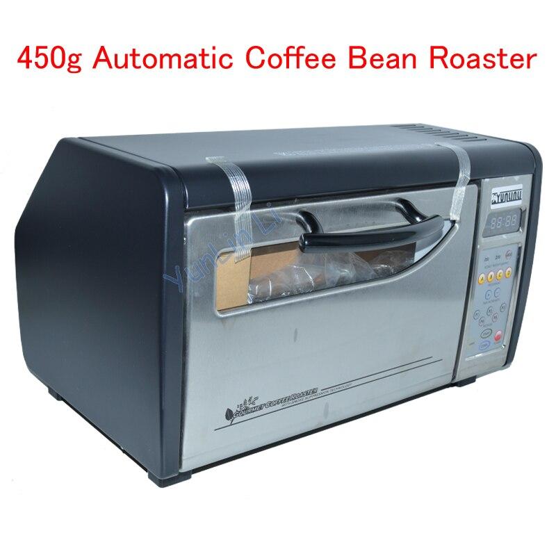 450g Electric Coffee Roaster Roasting Machine Coffee Automatic Coffee Bean Roaster 1600PLUS Coffee Bean Roasting Oven commercial coffee roasting machine professional coffee roaster machine 1000g coffee bean roasting machine 220v 2000w 1pc