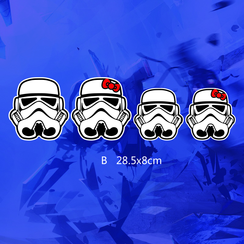 ETIE Car Styling Funny Car Sticker Decal Motorcycle Cool Star Wars - Car window decals custom online