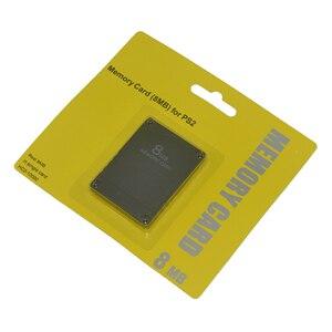 Image 4 - 8 16 32 64 128 MB כרטיס זיכרון עבור סוני עבור PS2 עם תיבה הקמעונאי
