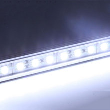 2x 20 Inch Aluminum LED Ceiling Roof Lights Boat Marine Yacht Cabin Light Bar White