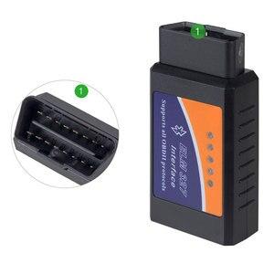 Image 2 - PANDUK ELM327 1.5V teşhis tarayıcı araba Bluetooth Escaner Obd2 2.1V araç teşhis aracı Android otomotiv tarayıcı 2019