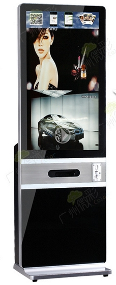 Shopping Mall Smart 42inch Multi Function Video Photo Printing Video Player Advertising Screen Display