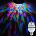 AC 85-265 V 110 V 220 V Qualidade E27 3 W Colorido Mini Rotating Led lâmpada 80% de Poupança de Energia Longa Vida 20,000 horas 16 Cores Mudança RGB