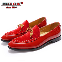 Luxury Brand Designer Men Shoes Leather Loafers Velvet Comfort Wedding Party Pointed Toe Formal Casual 2019