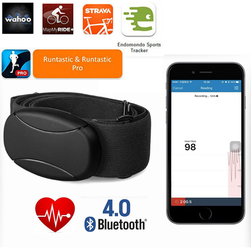 b0082394664 iPhone Heart Rate Monitor de ritmo cardiaco con correa para el pecho pour