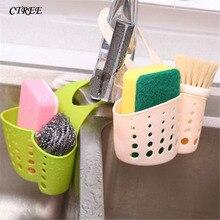 CTREE 1Pc Portable Storage Baskets Home Kitchen Hanging Drain Bag Basket Bath Tool Sink Holder Soap Bathroom C97