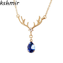 2018 female charm necklace fashion small animals Necklace delicate pendant party gift ball