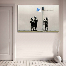 Banksy Street Graffiti Essex Road Tesco Kids Wall Art Canvas Posters Prints Painting Pictures For Modern Bedroom Home Decor