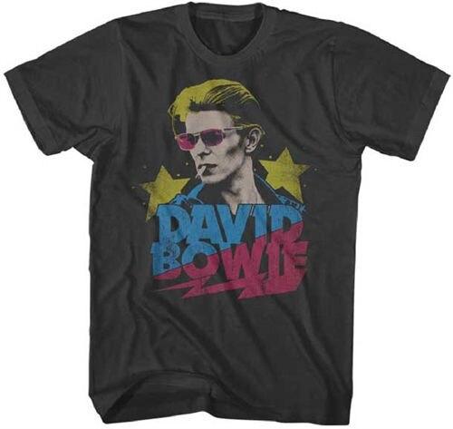 Дэвид Боуи Ziggy Stardust Мужские Графический футболка Магия Tee топ ти Хлопок Высокое Качество Человек футболки Евро Размер S-XXXL