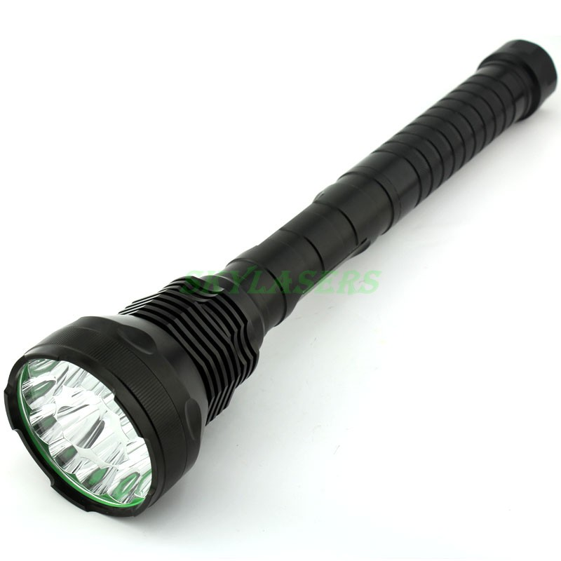 High Power 18000 lm 15 x CREE XM-L T6 15T6 5 Mode Memory (4 x 26650 / 4 x 18650) Flashlight Long Distance LED Flashlight Torch new 612 450lm 3 mode white flashlight iron grey 1 x 18650