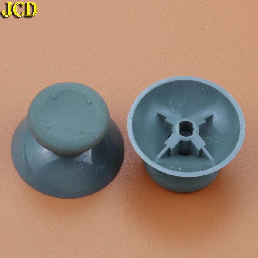 JCD 2pcs Gray Analog Cover 3D Thumb Sticks Joystick Thumbstick Mushroom Cap Cover For Microsoft Xbox 360 Controller