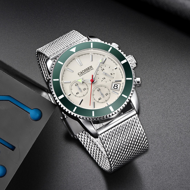 Men's Fashionable Stainless Steel Watch