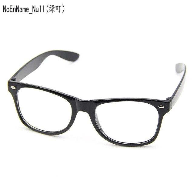 4ecac019bf Fashion Glasses Cool Unisex Clear Lens Nerd Geek Glasses Eyewear For Men  Women
