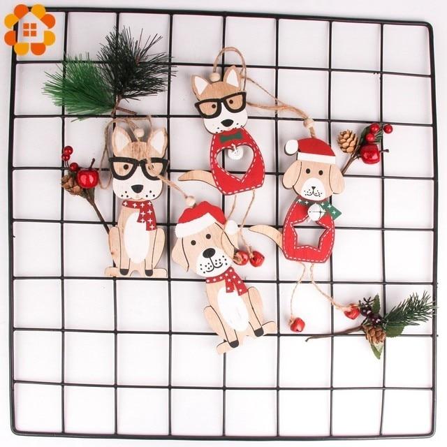 Dog Cute Christmas  Pendants  4