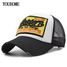 YOUBOME Baseball Cap Women Brand Snapback Caps Men Hats For Men 5 Panel Mesh Summer Casquette Bone Hip Hop MaLe Dad Cap Hat(China)