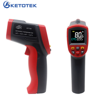 GT750 GT950 Infrared Thermometer Laser Pyrometer 750C 950C Non contact LCD IR Gun Point Temperature Meter Color Backlight