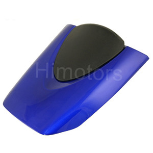Image 4 - עבור הונדה CBR600RR 2007 2008 2009 2010 2011 2012 CBR 600RR אופנוע שחור אדום כחול מושב אחורי Fairing כיסוי ברדס זנב כיסוי