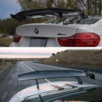 Carbon Fiber CAR REAR WING TRUNK LIP SPOILER FOR BMW M1 M3 M4 M5 M6 1 2 3 4 5 6 7 Series MAD GTS