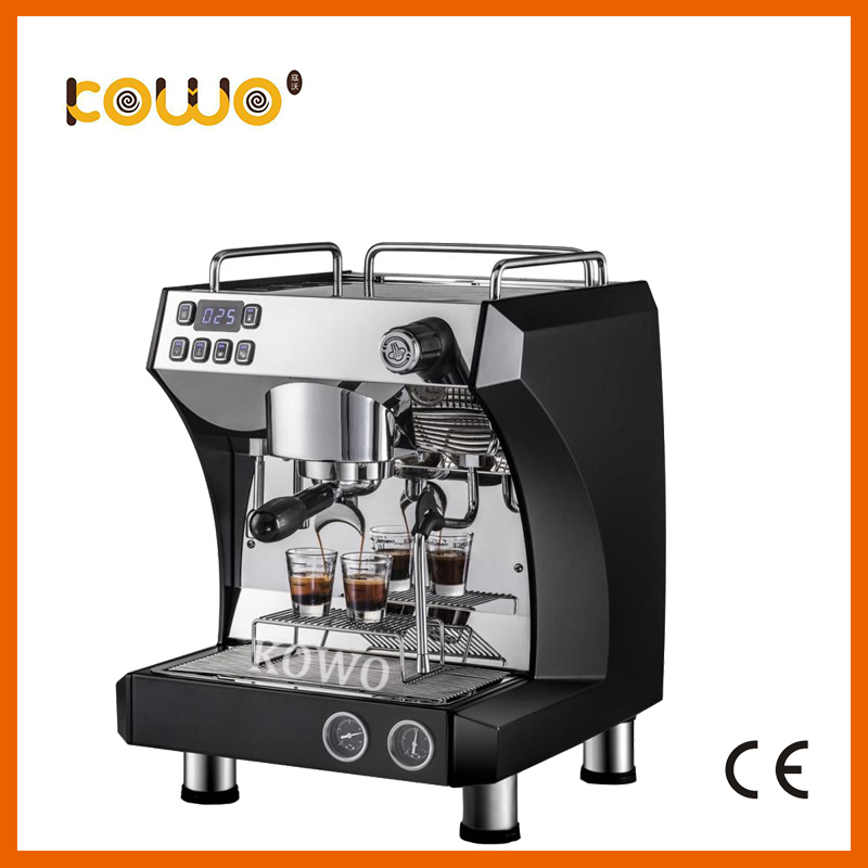 Professional Commercial Coffee Maker Cappuccino Espresso Machine Good Quality Single Heads For Cafe and Coffee Shop