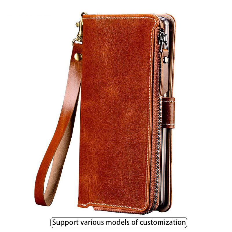 Flip Case For Huawei Mate 10 20 lite P10 P20 lite Pro Case Retro zipper Bag Wallet For Honor 7X 8X 9 10 V20 P Smart Cover-in Flip Cases from Cellphones & Telecommunications    1