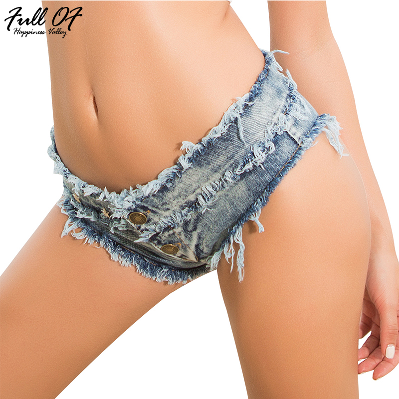 Fashion short jeans woman befree Summer Sexy Vintage denim Low waist Lace Up Women jeans Hole Night club ladies shorts Hot New in Jeans from Women 39 s Clothing