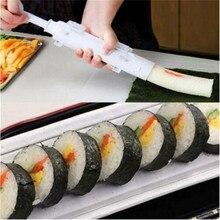 1 Unidades Bazooka Rollos de Sushi Herramienta de Toma de Molde de Arroz Sushi Fabricante de Moldes de Rodillos Herramientas de Cocina