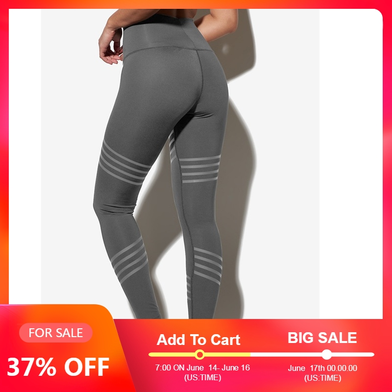 LAISIYI High Waist Fitness   Leggings   Women Push Up Workout   Legging   Print Plus Size Leggins Pants High Quality Clothing Summer