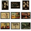 Vintage Retro rock band music Matte Kraft Paper Poster Wall Sticker Home Decora My Chemical Romance part 2