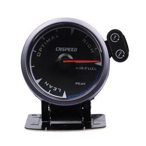 """Image 2 - CNSPEED Medidor de relación de combustible y aire para coche, 7 colores, 2,5 """", 60mm, con soporte LED"""