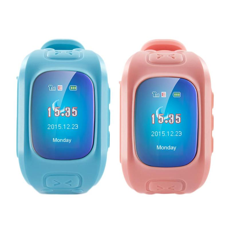 Children's GPS Smart Watch relogio feminino Child Student Positioning SOS Anti-lost Tracker Locator Watches relogio masculino E