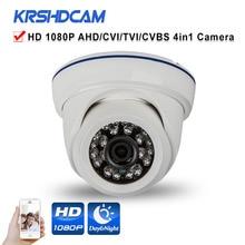 Full HD 1080P AHD/TVI/CVI/CVBS CCTV camera 4 in 1 Cameras SONY sensor plastic IR room dome indoor security cameras de seguranca