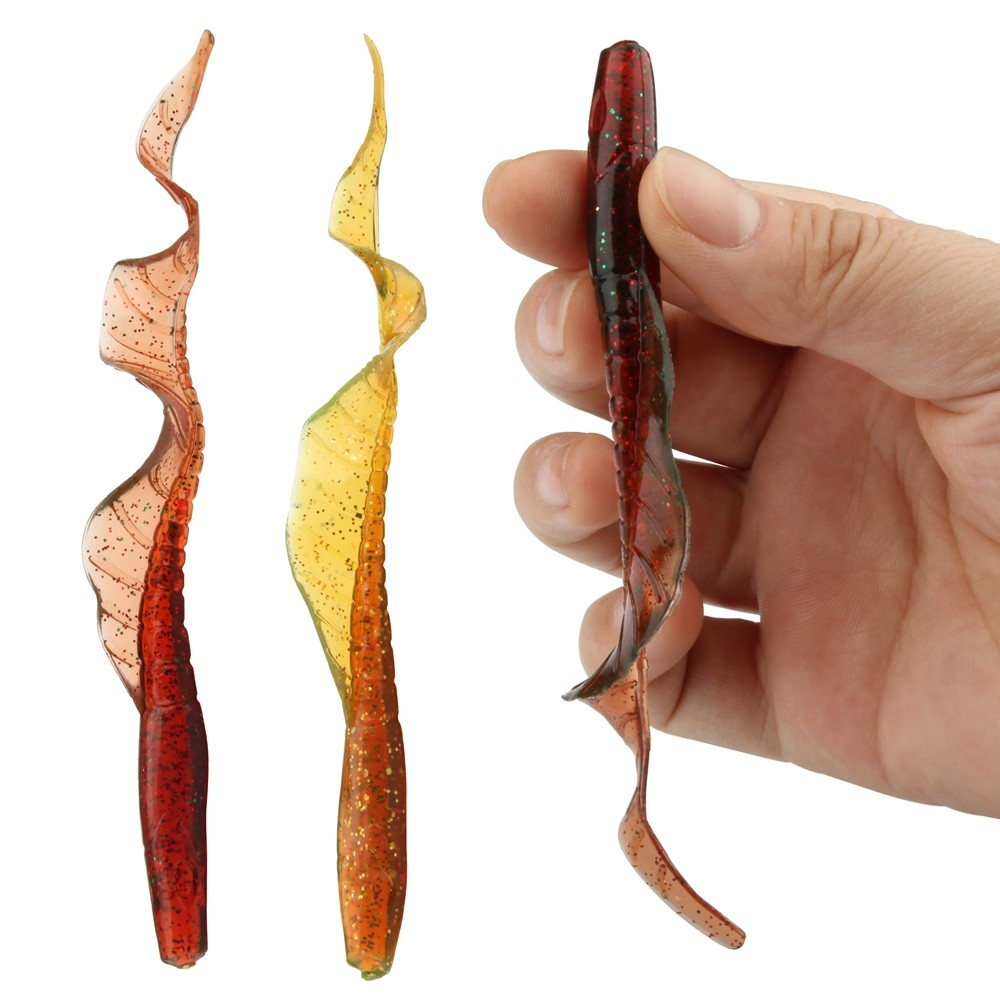 10pcsLot ROSEWOOD Classic Soft Lures 13cm 5-Inch Swimbaits Artificial Bait Silicone Lure Fishing Tackle Fishing Lures (19)