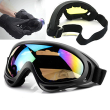 Windproof Skiing Glasses Cycling Eyewear Goggles Bendable Sports CS Glasses Ski Goggles UV400 Dustproof MotoSunglasses Man Woman