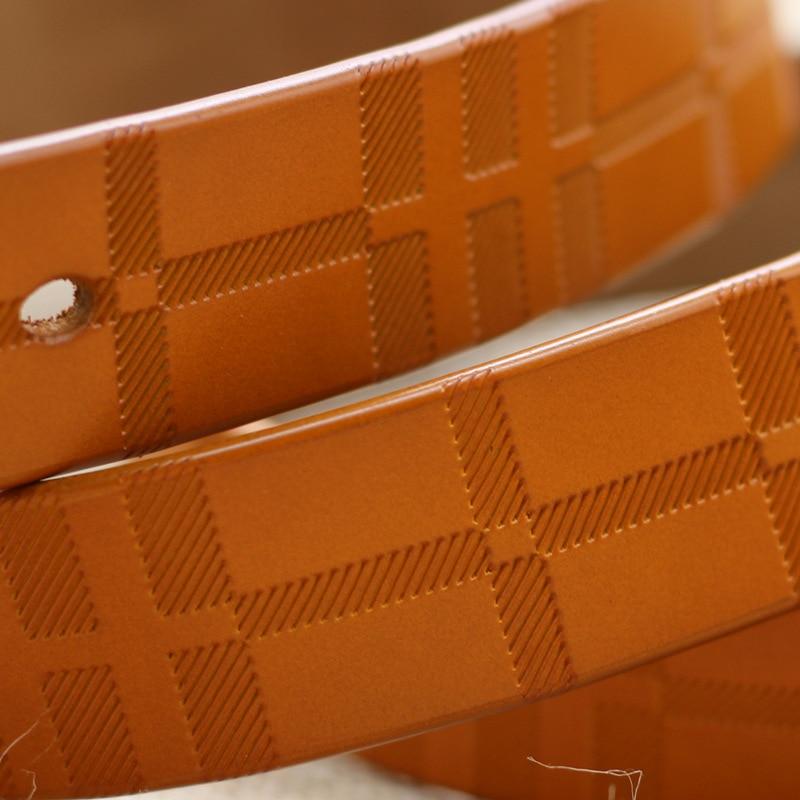 GEERSIDAN 2018 Baru kualitas kulit cowskin sabuk wanita vintage yang - Aksesori pakaian - Foto 3