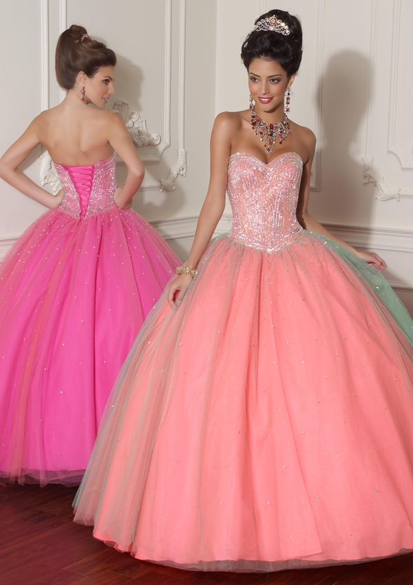 Compare Prices on Sweet 16 Coral Dresses- Online Shopping/Buy Low ...